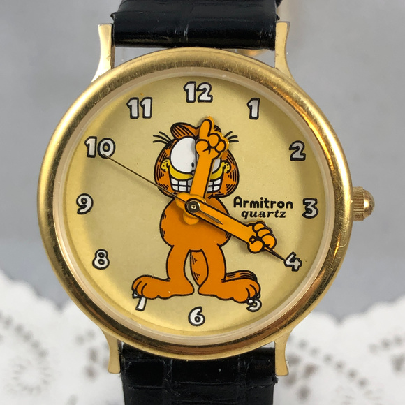 Armitron Other - Vintage Armitron Garfield Watch Hide the Lasagna